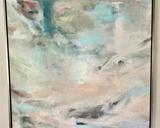 112. Blue Contemporary Painting by John Richards