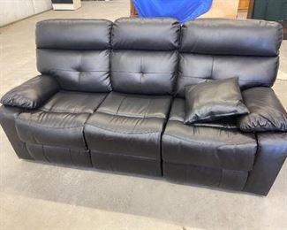 001 Leather sofa
