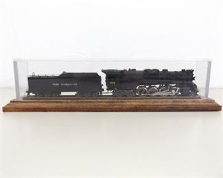 Rivarossi HO 2-8-4 Powered Engine and Coal Car in Custom Case