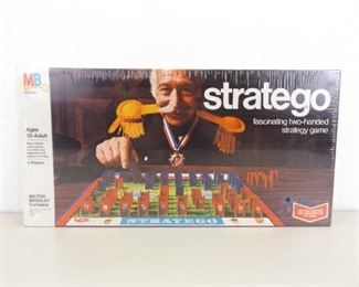 New in Original Factory Sealed Box 1977 Milton Bradley's Stratego
