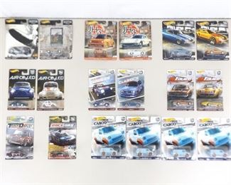 Large Lot of NEW Hot Wheels Car Culture Real Rider Cars