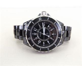 WORKING Chanel J12 Ceramic Wrist Watch