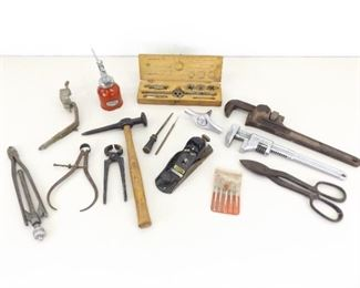 Lot of Antique and Vintage Hand Tools