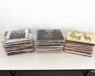 HUGE Collection of 1960's 70's and 80's Rock LP Records