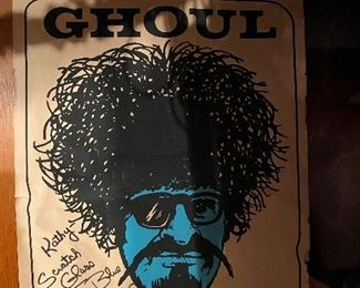 The Ghoul Poster - signed!