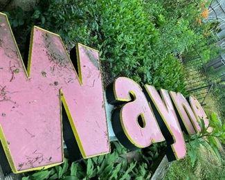 Large signage for Wayne MI