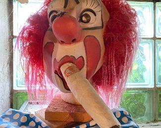 Clown with a Doobie