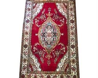 Lot 009 Iranian Natural Dyed Hand Woven Wool Rug.    https://www.bidrustbelt.com/Event/LotDetails/120414429/Iranian-Natural-Dyed-Hand-Woven-Wool-Rug
