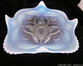 Antique Opalescent Bowl