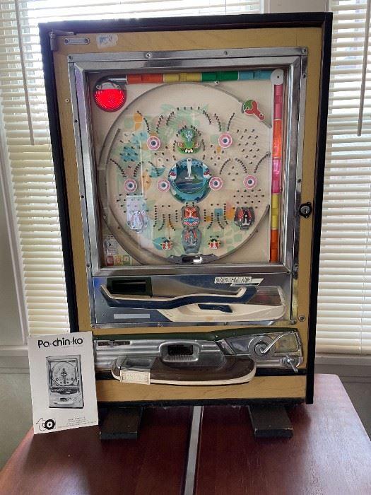 Pachinko vintage game