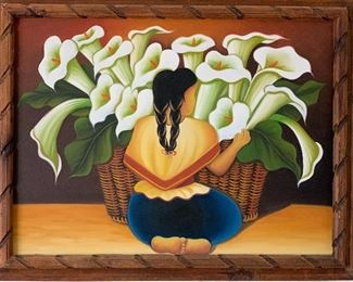 Beautiful Mexican painting