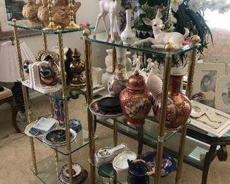 Decorative Decor - Vases, Plates, Bowls, Book Ends, Candle Sticks