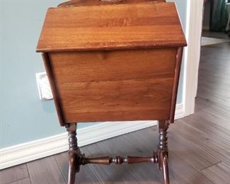 Vintage/antique wooden ( maple) sewing box.