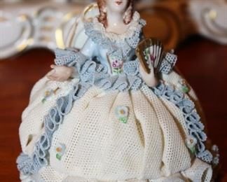 There is a great collection of Dresden Porcelain