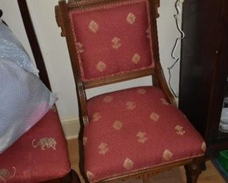 Several really fine pieces of Eastlake furniture