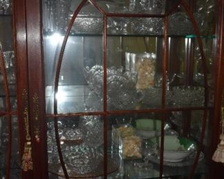 Lots of crystal: Waterford, Lenox and more  - antique cut glass, limoges, and fine pottery