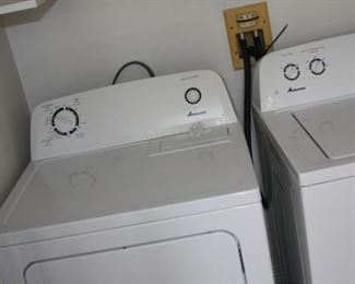 Amana washer and dryer set - $550