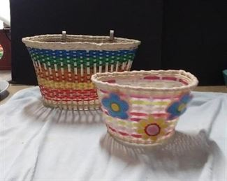 2 Bicycle Baskets