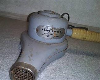 Vintage 1950s Hair Dryer (works)