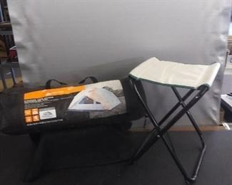 2 Person Four Season Backpacking Tent And 1 Foldable Seat