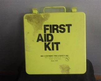 Older First Aid Kit