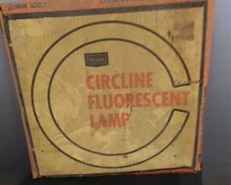 Misc. Bucket Of Bolts /Other Items / Circline Fluorescent Lamp