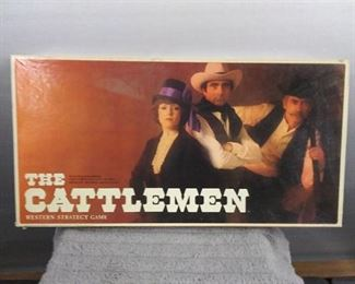 Games - 1977 The Cattleman Western Strategy Vintage Game (Complete)