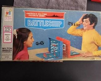 Games - 1967 Edition Battleship with All Pieces