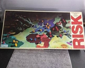 1980 Edition Risk Board Game with All Pieces