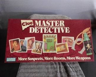 1988 Edition Clue Board Game with All Pieces