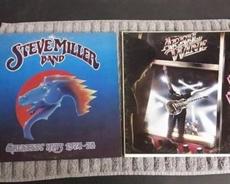 Vinyl Albums - The Steve Miller Band Greatest Hits 1974-78 & April Wine Power Play