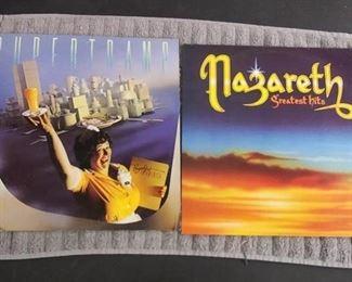 Vinyl Albums - Super Tramp & Nazareth Greatest Hits