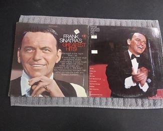 Vinyl Albums - Frank Sinatra's Greatest Hits! & Greatest Hits Vol. 2