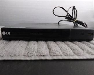 LG DVD Player with Remote & Speaker Wire