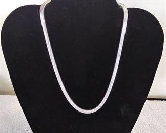 """13"""" Serpentine Necklace"""