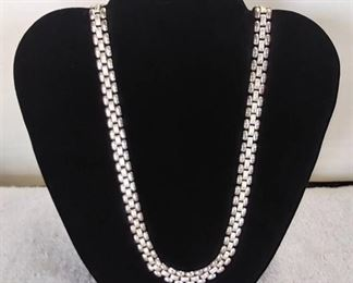 """20"""" Silver Toned Necklace"""