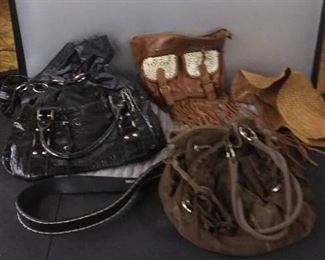Purse Collection And Other Items