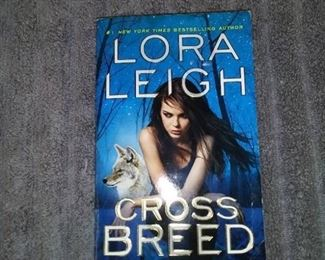 Books - 6 Romance Novels By Lora Leigh & Others