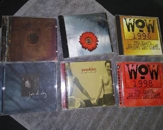 CD's - 18 Christian Music CD's with Michael W. Smith I'll Lead You Home & Jars of Clay