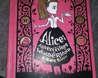 Books - 3 Hardback Books with Grimm's Fairy Tails & Alice's Adventures in Wonderland And Other Stores