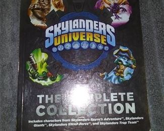 Books - 1 Magazine of Gameinformer & 2 Books with is Skylanders Universe The Complete Collection & Dude Unlock The Power
