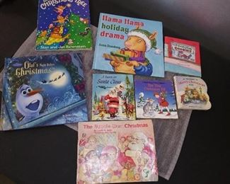 Books - 10 Kids Christmas Books with Olaf's Night Before Christmas & Llama Llama Holiday Drama