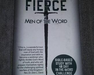 Books - 3 Spiritual Books with Fierce Man Of The Word & Swindoll' Living Insights