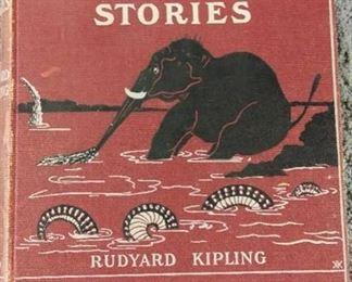 Books - 3 Hardback Books with All The Mowgli Stories By Rudy Kipling & Just The Stories By Rudy Kipling