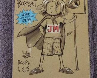 Books - 13 Children Books American Girl Saige & Judy Moody Box Set