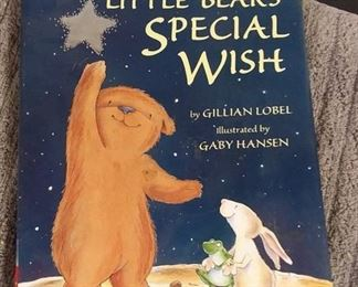 Books - 24 Children Books with Little Bear's Special Wish By Gillian Libel & Many Scholastic Books