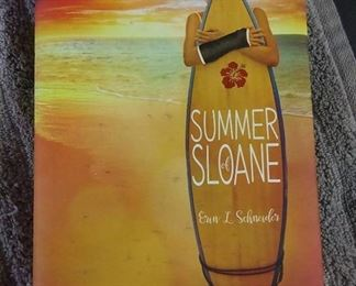 Books - 2 Hardcover Books with Summer Of Sloane By Erin L. Schneider & Four Seasons In Rome By Anthony Doerr