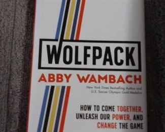 Books - 2 Books with Wolfpack By Abby Wamback & Max