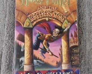 Books - 1 Book with Mangus Chase and The Gods Of AsGard & 3 Books Harry Potter By J.K. Rowling