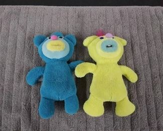 2 Fisher Price Sing-A-Ma-Jigs Blue & Yellow